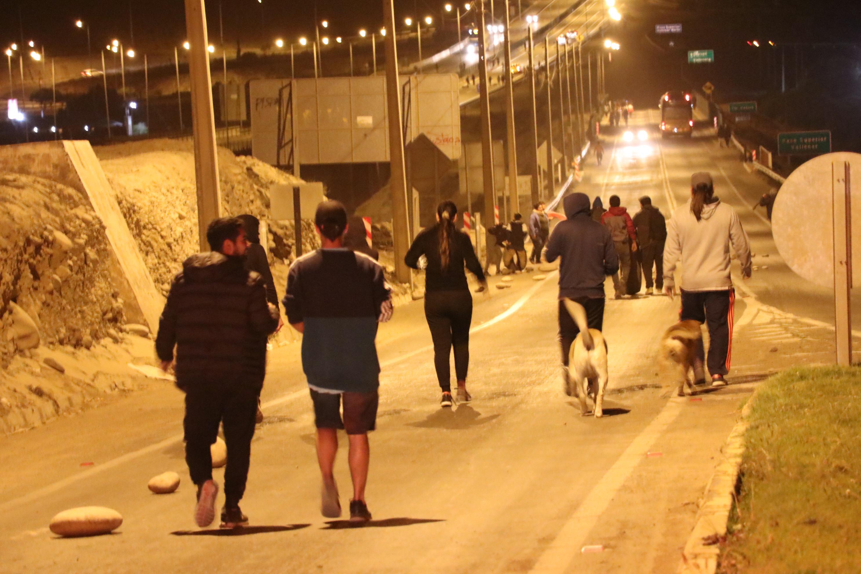 Incidentes aislados marcan jornadas de protestas en el Huasco
