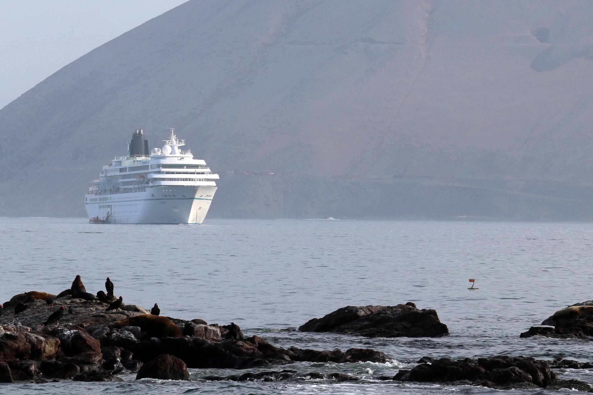 A fin de año podría arribar cruceros a Caleta Chañaral en Freirina