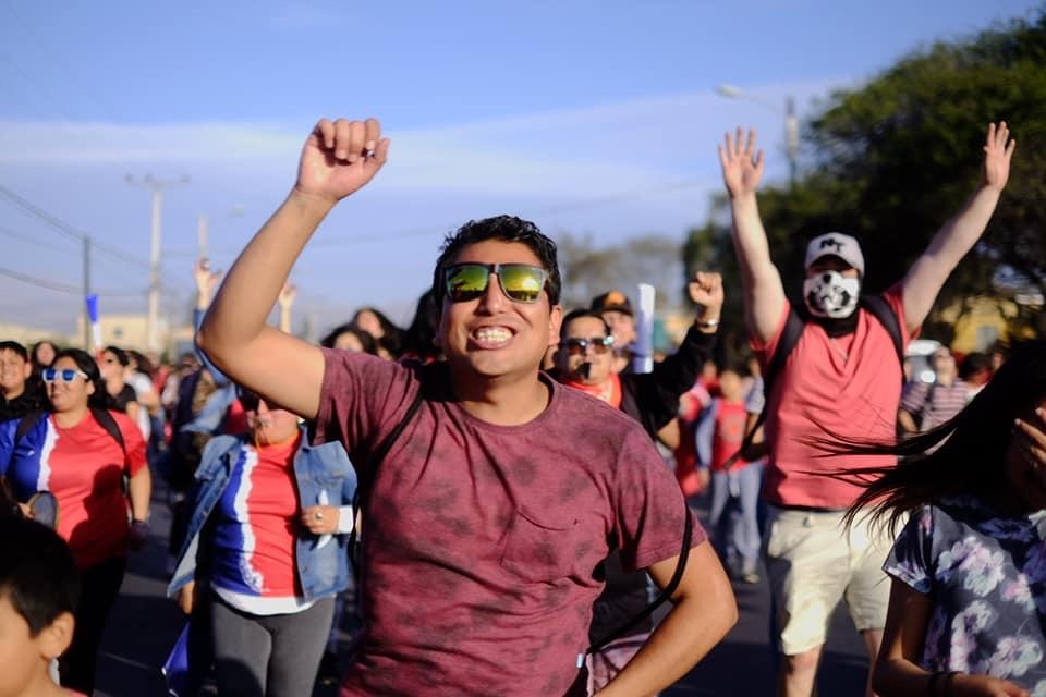 Galería: Las mejores imágenes de las movilizaciones en Vallenar