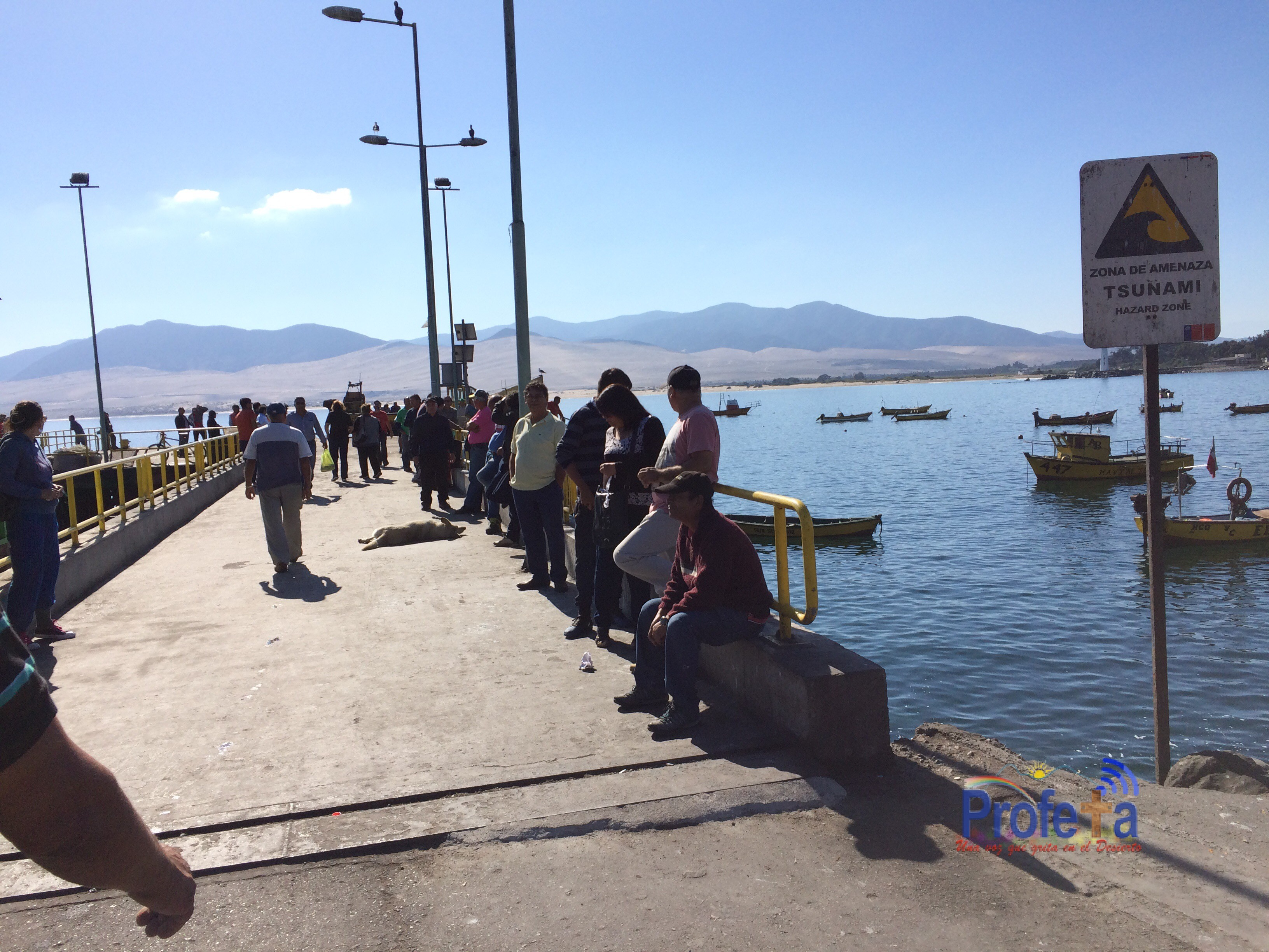 Roban equipamiento de sistema de alerta de tsunamis en Huasco
