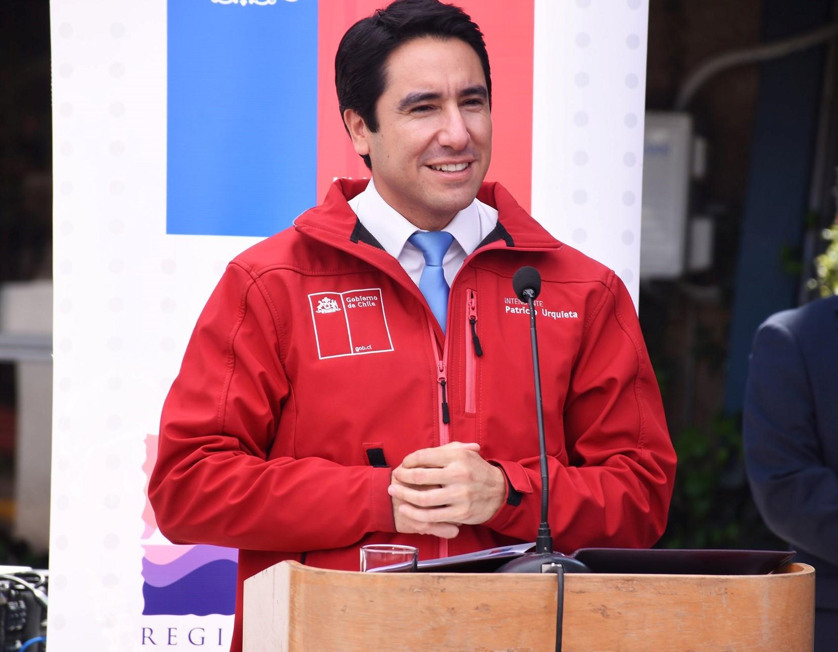 Intendente Urquieta hace un llamado a unir voluntades en torno a los tres grandes acuerdos nacionales