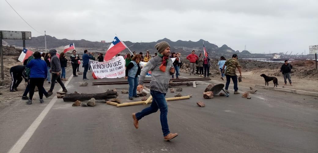 Manifestaciones en Huasco causan enfrentamientos con Carabineros