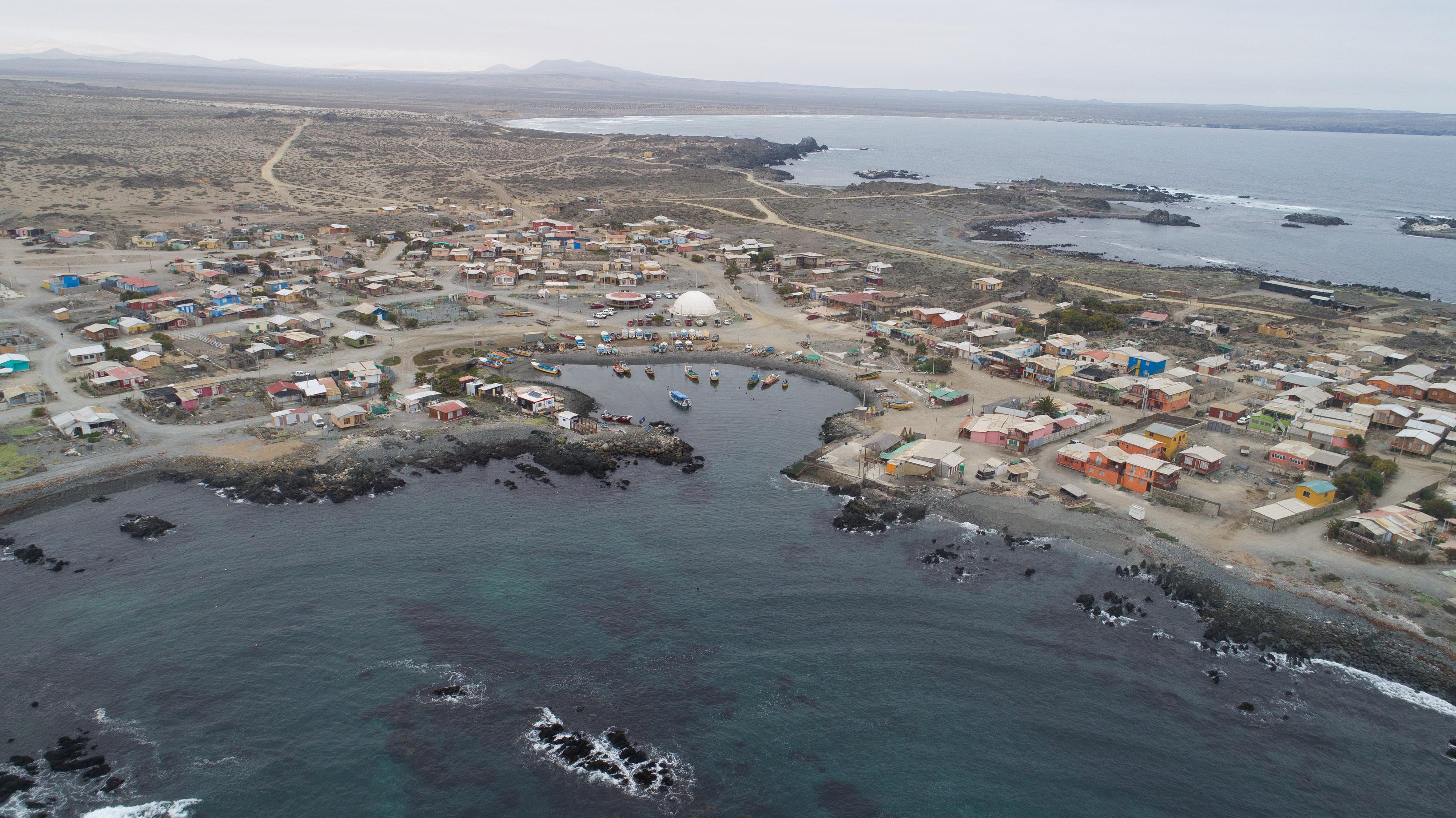 En marcha se encuentra el Diseño de la Reposición de la Infraestructura Portuaria de Caleta Chañaral de Aceituno