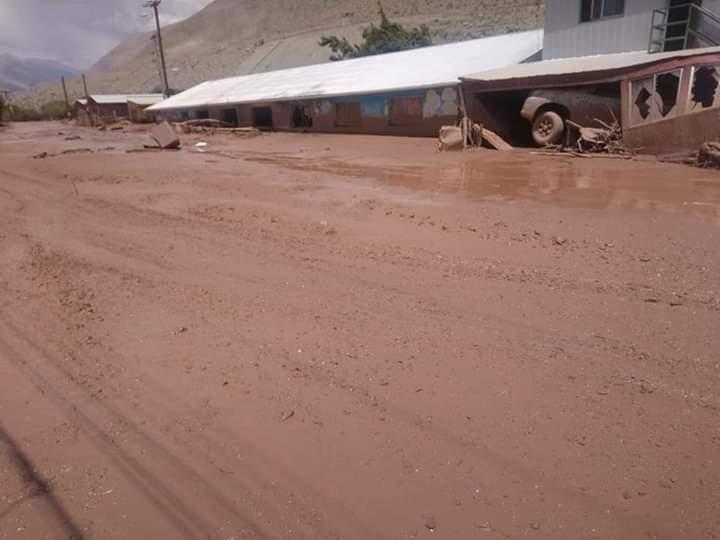 50 damnificados y 90 casas con daños en el valle producto de aluviones