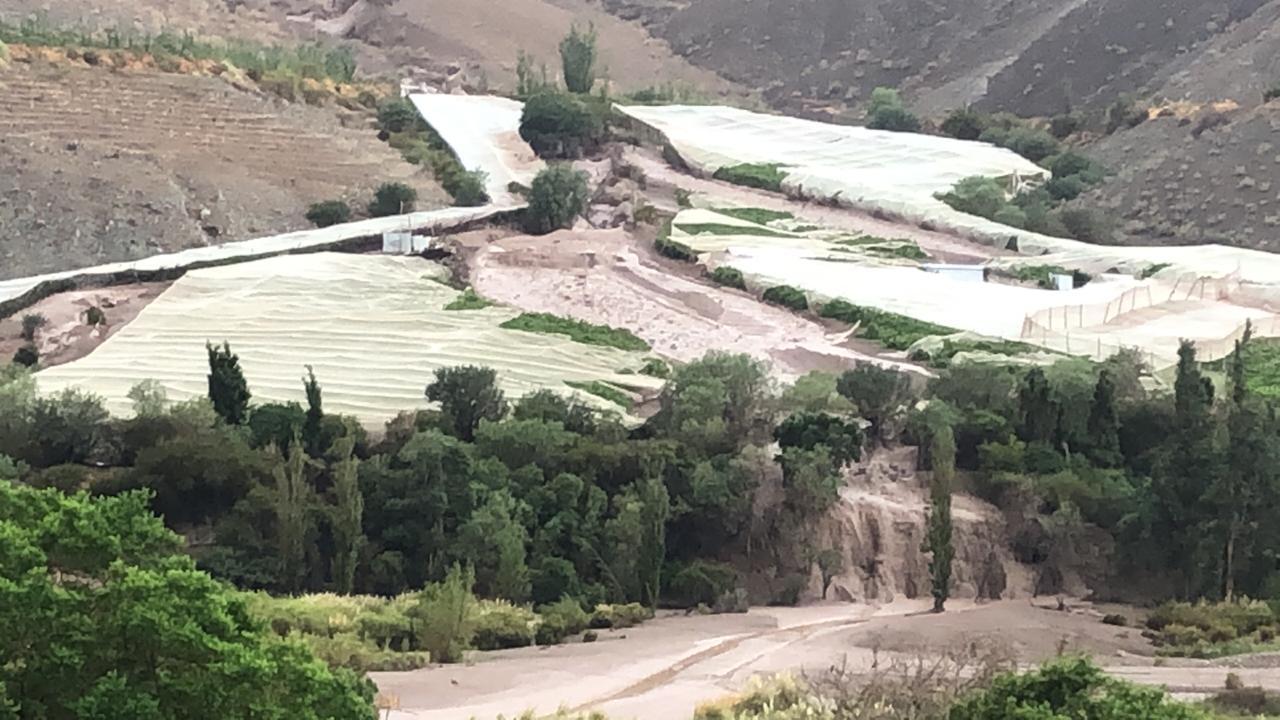 65 canales dañados dejó paso del aluvión en El Tránsito