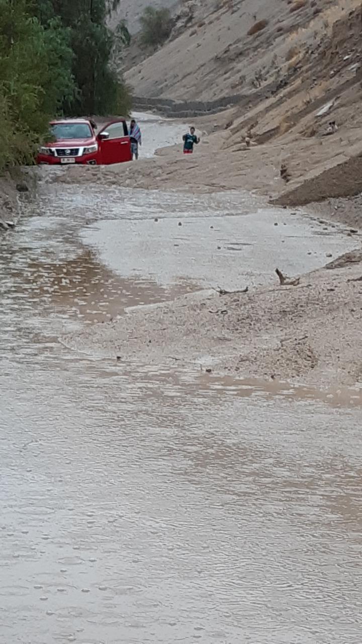 Imágenes del aluvión que deja un fallecido en El Tránsito