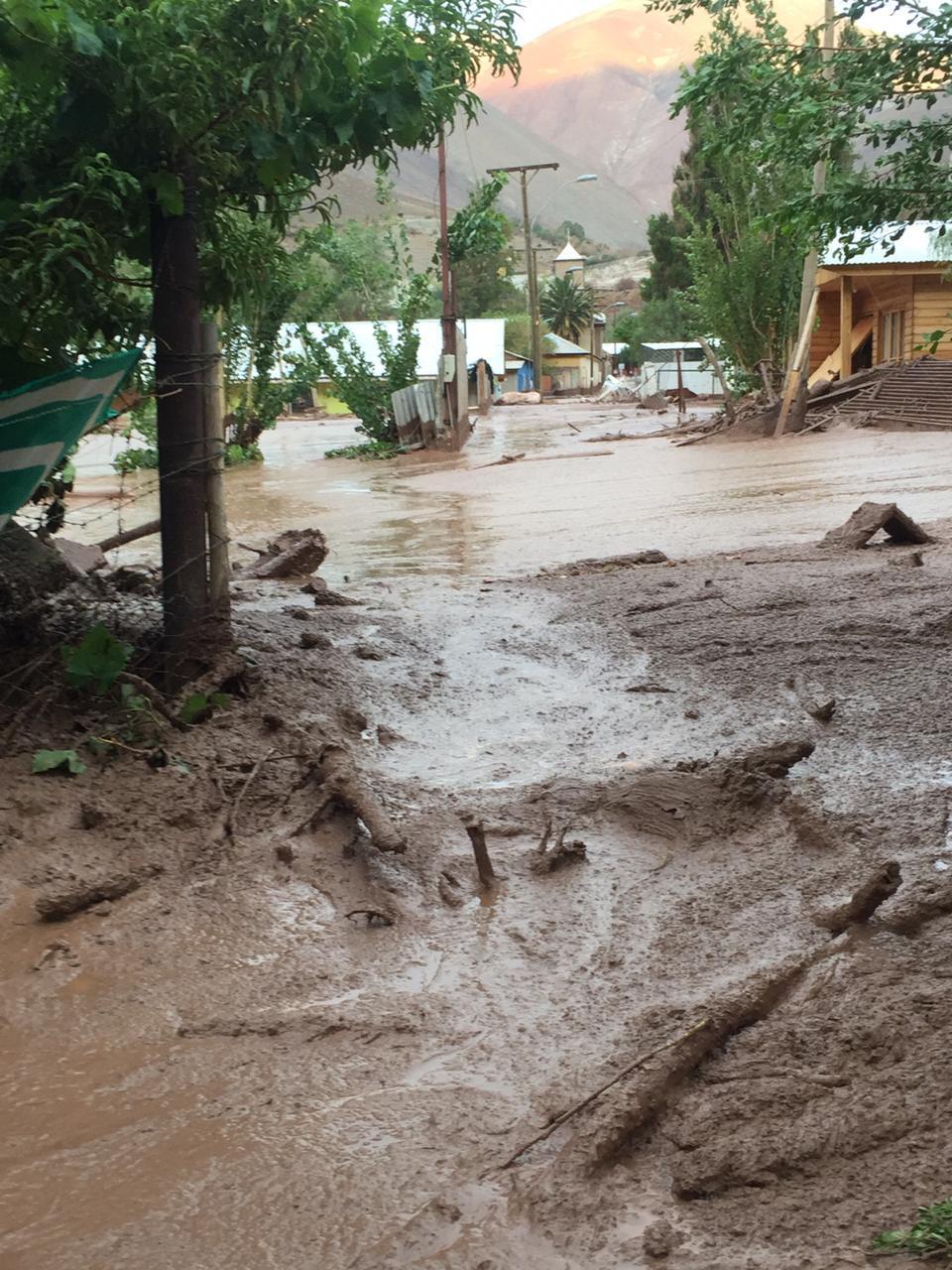 Confirman identificación de fallecido en aluvión de El Tránsito