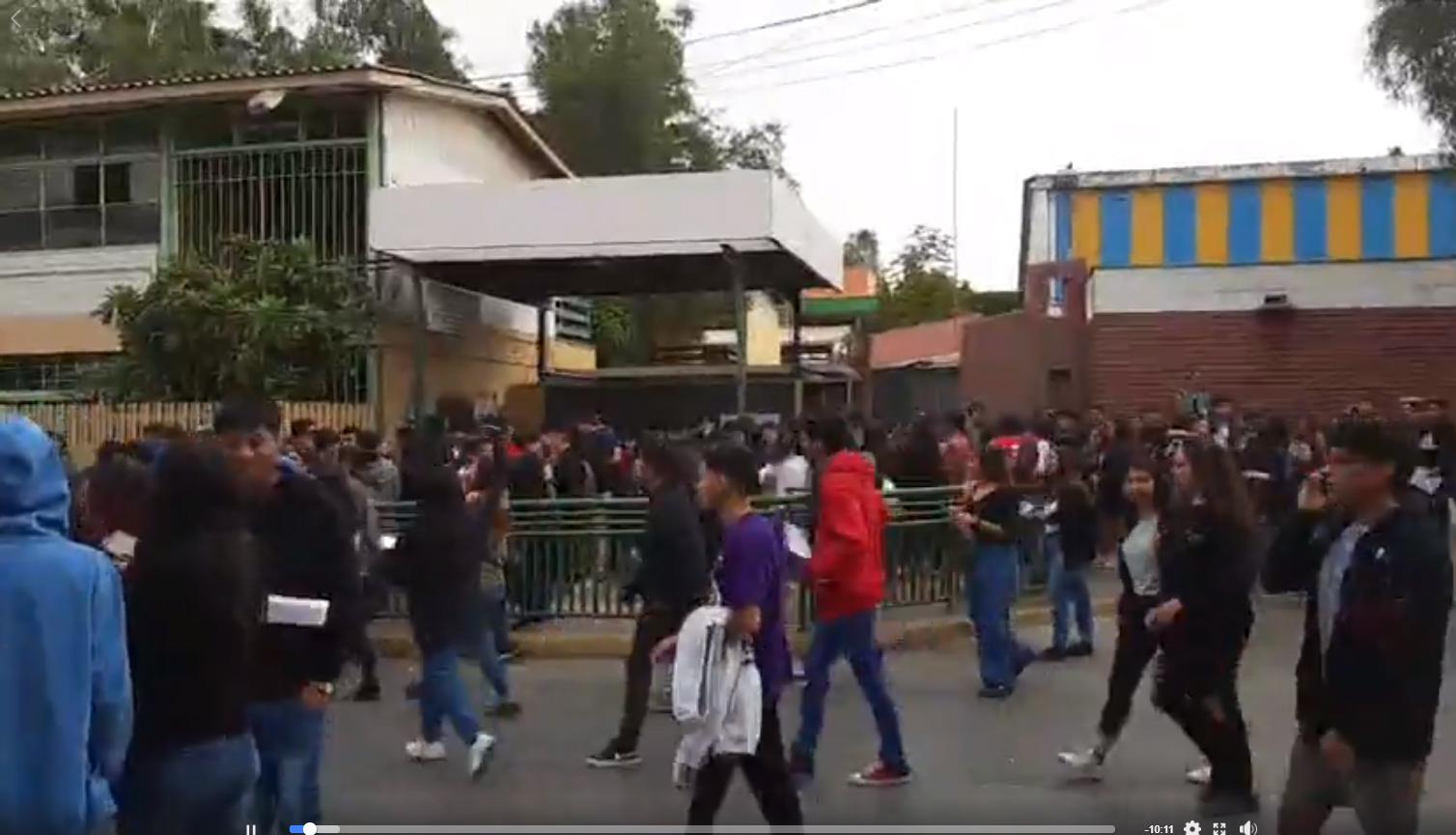 Protestas en Vallenar obligan suspensión de PSU en sus sedes