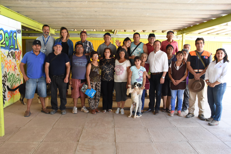 Gobierno entrega Bono Enseres a familias de El Tránsito y avanza en la construcción de viviendas de emergencia
