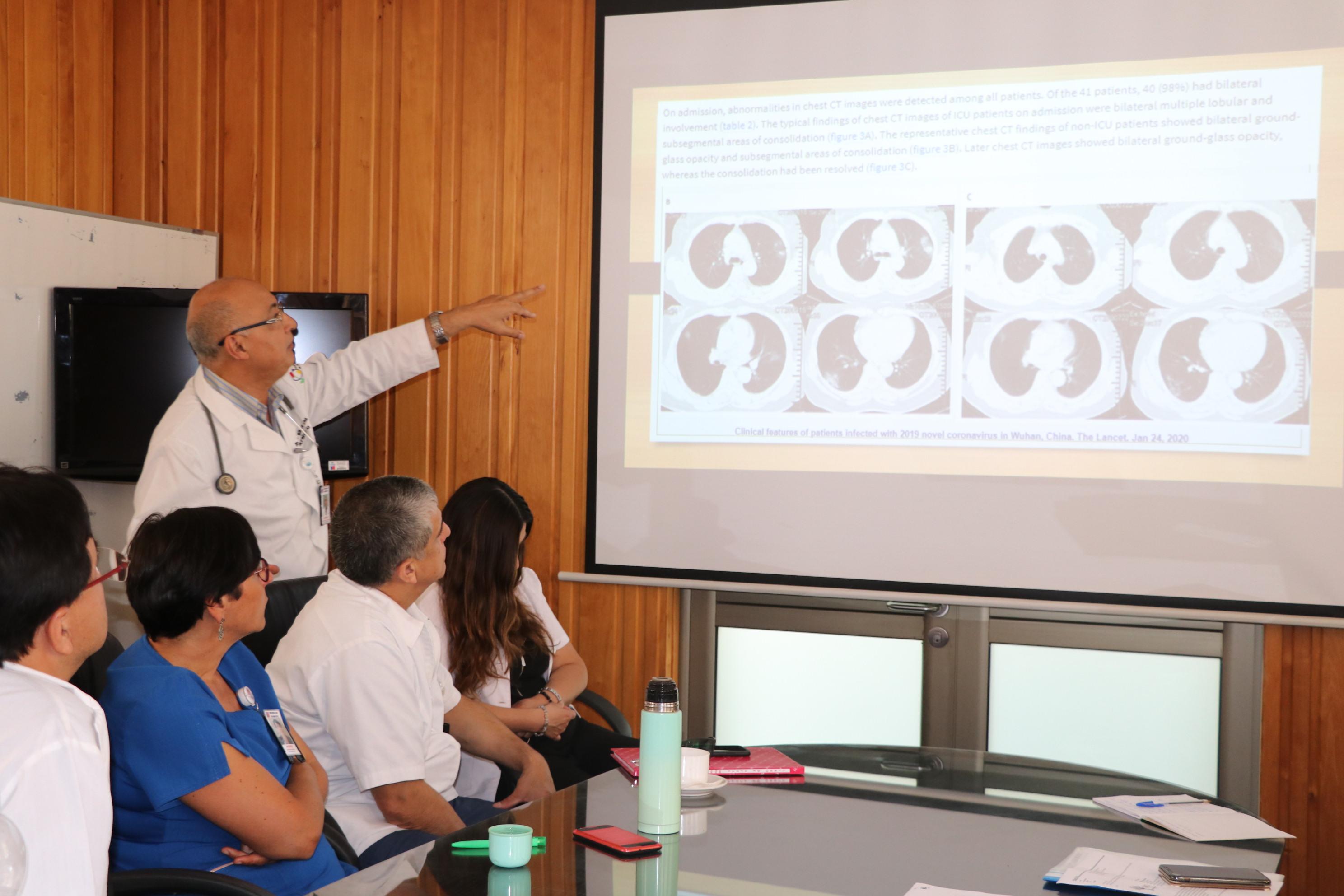 Hospital capacita a funcionarios en caso de recibir paciente sospechoso de Coronavirus o COVID-19