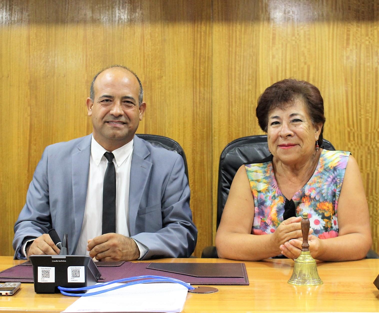 Consejera Ruth Vega asume Presidencia del Consejo Regional de Atacama