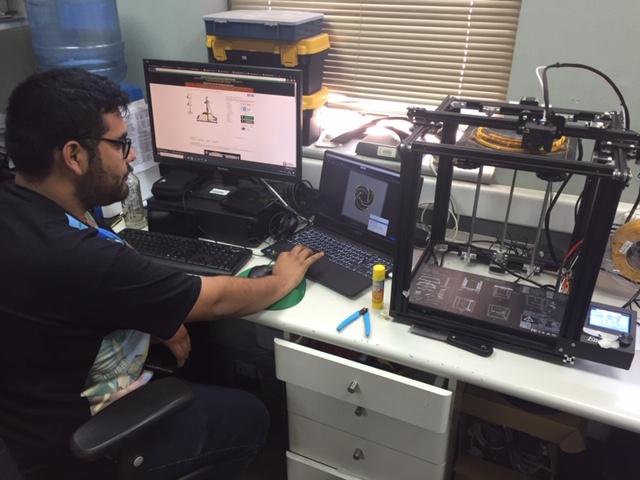 HPH desarrolla elementos de protección personal en 3D en beneficio de funcionarios y atención de la comunidad