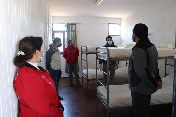Habilitan segundo albergue para personas en situación de calle en Vallenar