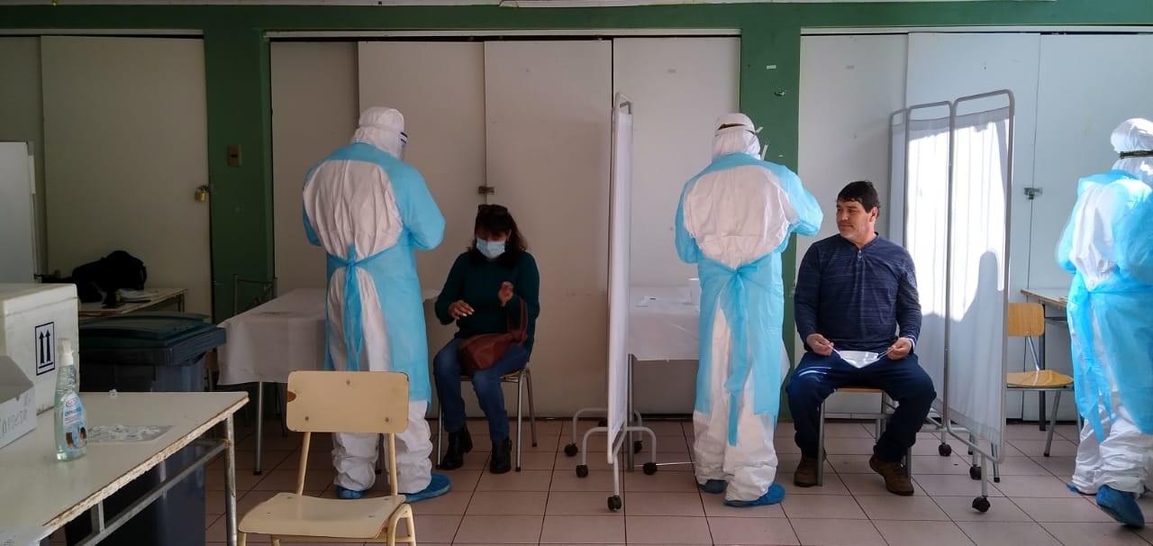 Esta semana finalizan los mil testeos masivos en vecinos y grupos específicos de Vallenar