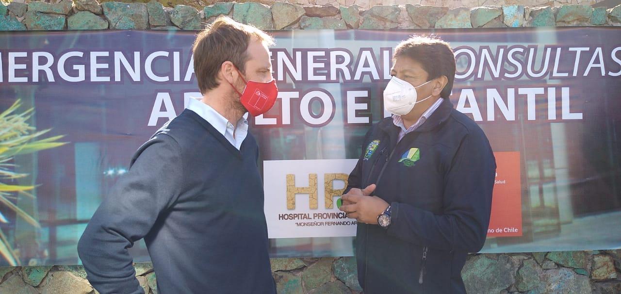 Subsecretario de Salud dio ejemplo de respeto a controles sanitarios