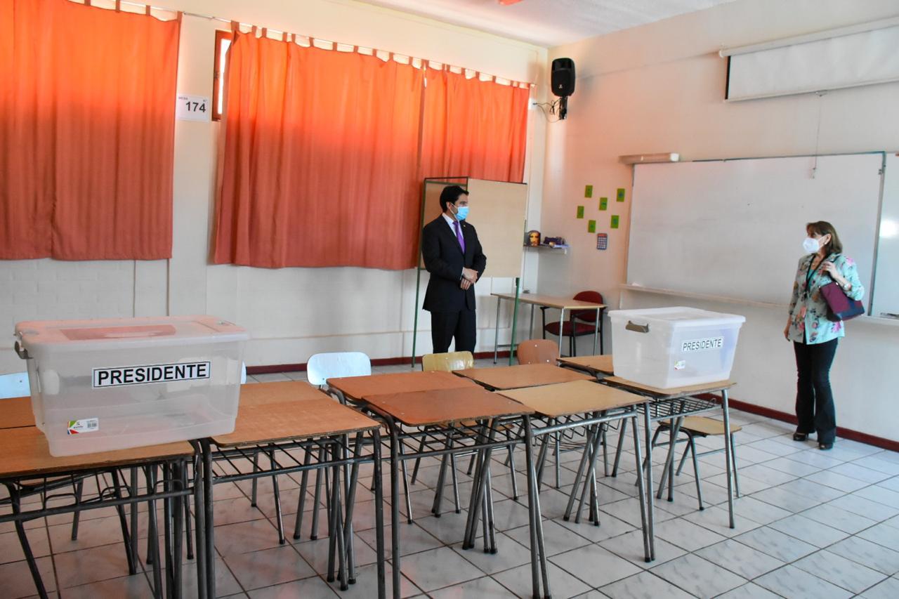 Destacan aumento de locales de votación en Atacama para un plebiscito participativo y seguro