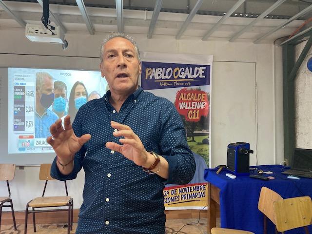 Pablo Ogalde, será el candidato de ChileVamos en Vallenar