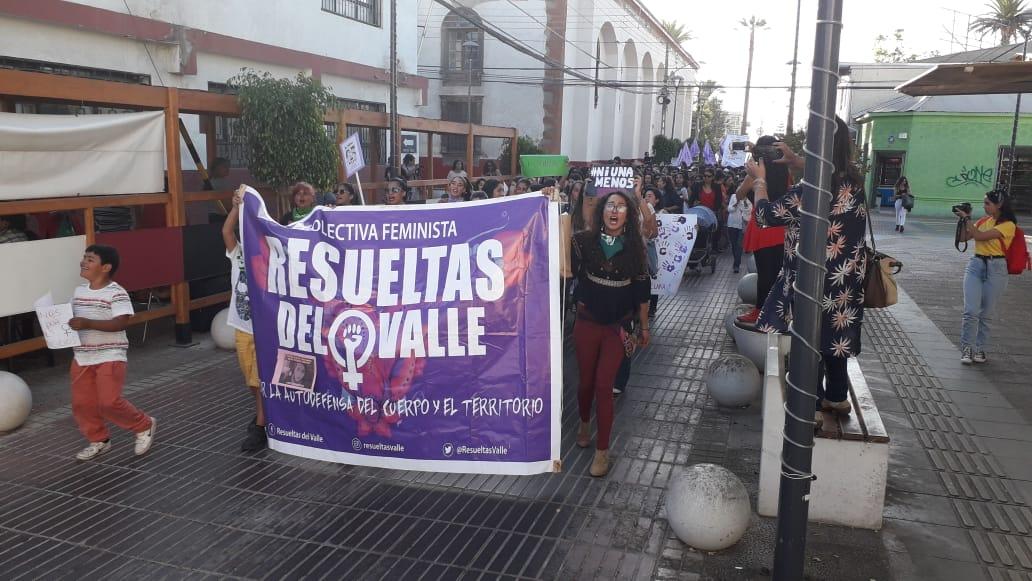 Hoy se realiza marcha por eliminación de violencia de género en Vallenar