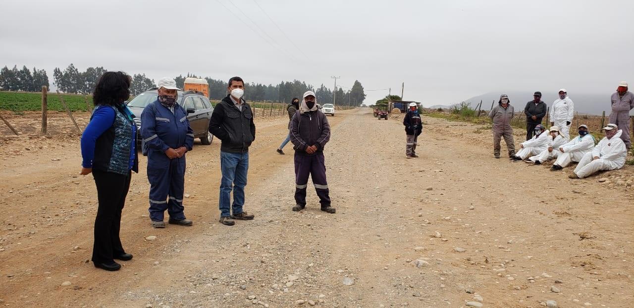 Valoran disposición de exdueño de Hacienda Ventanas para dar continuidad al riego y trabajos agrícolas
