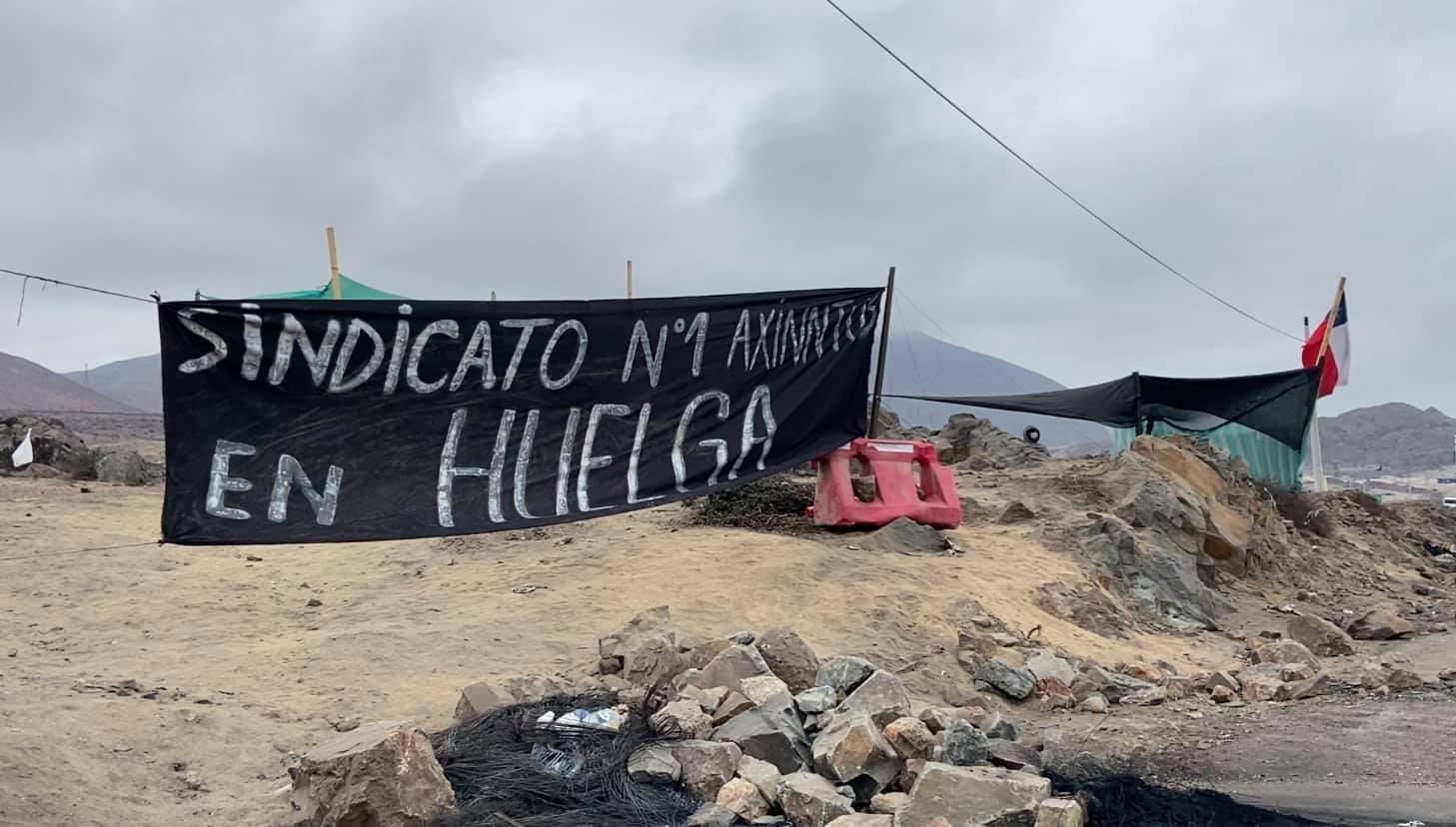 """Axinntus Huasco y negociación colectiva: """"Hemos mantenido un diálogo permanente y hemos hecho nuestros mejores esfuerzos por llegar a acuerdo"""""""