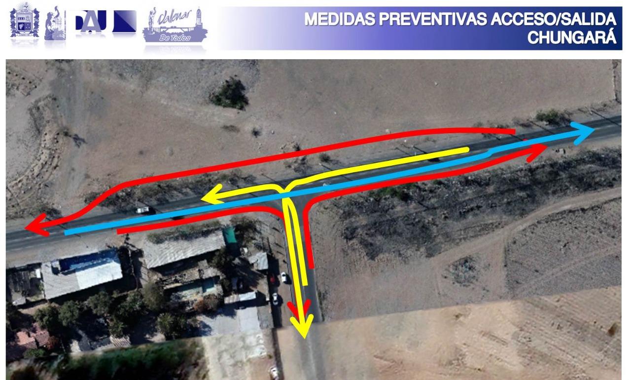 Municipio de Vallenar presenta solución vial a la problemática en el sector de avenida Chungará
