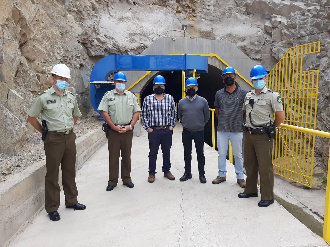 Junta de Vigilancia del río Huasco se reunió con Carabineros