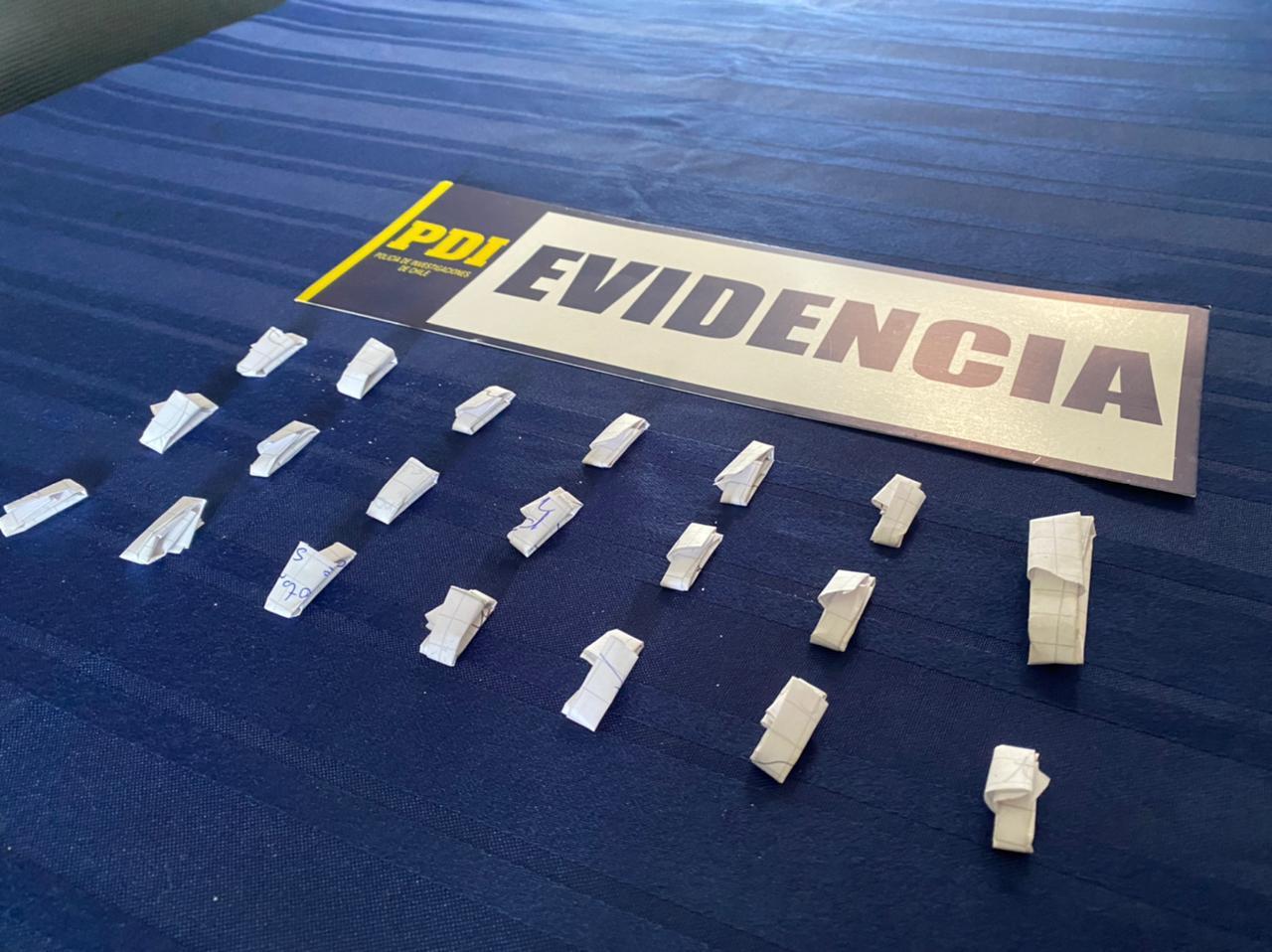 PDI detuvo a sujeto por delivery de droga en Vallenar