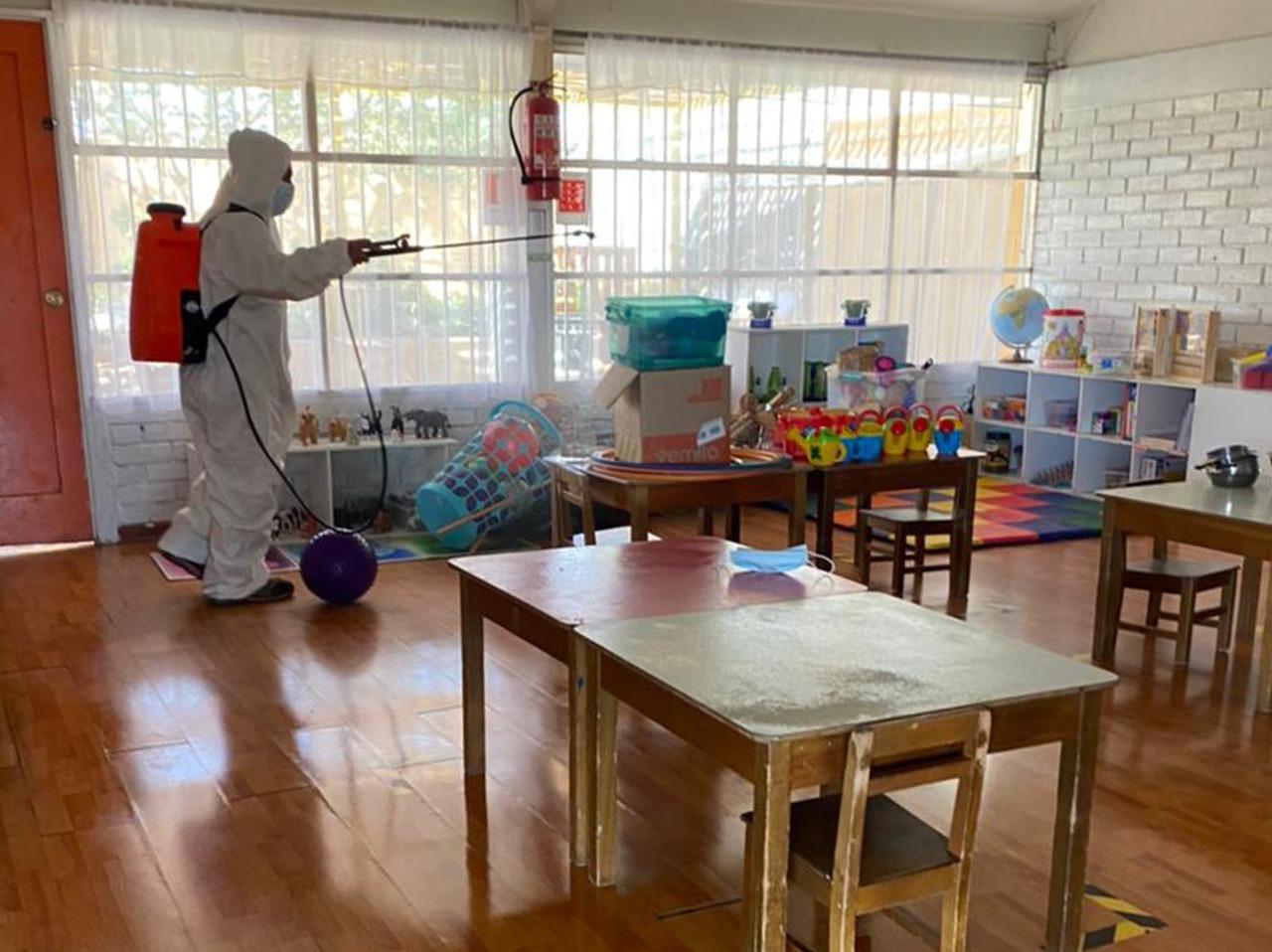 Con programa de sanitización semanal preparan establecimientos para Fases 2 y 3 en el territorio Huasco
