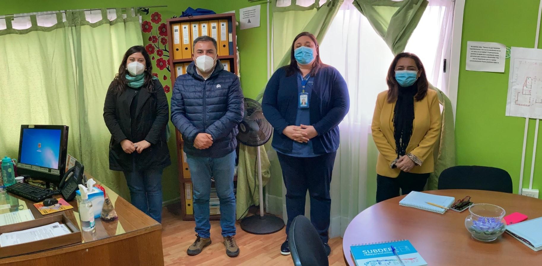 Reuniones alcalde electo de Huasco y comunidad