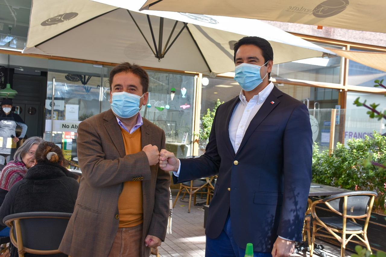 Intendente Urquieta se reúne junto al Gobernador Vargas para trabajar en unidad por la Región de Atacama