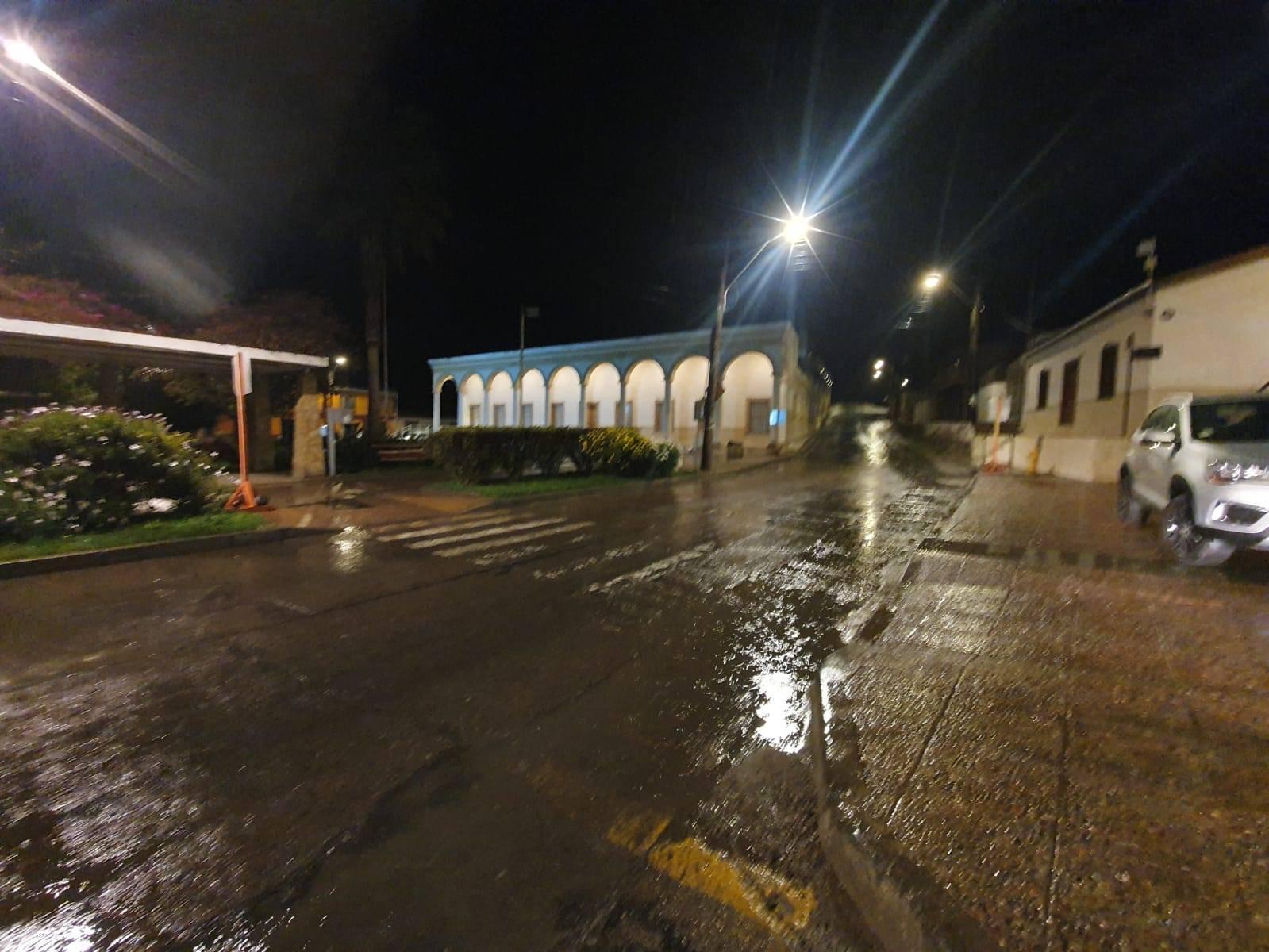Sólo conexión entre Vista Alegre - Altos del Valle y ruta C-485 presentaron rodados por precipitaciones