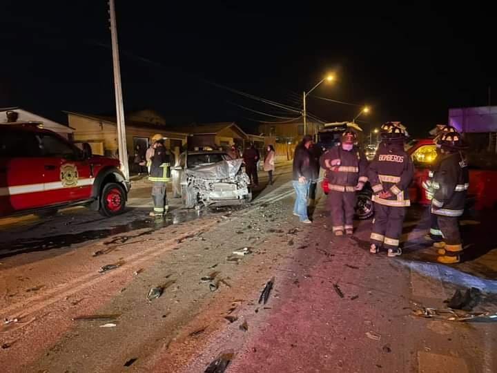 5 personas afectadas en Accidente vehicular en Huasco Bajo