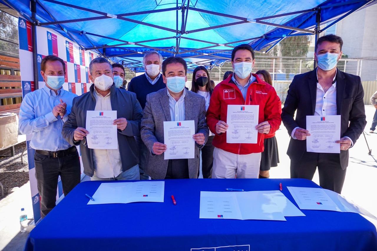 Autoridades regionales celebran adjudicación del diseño del centro oncológico para atacama
