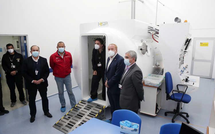Disponible para buzos de Atacama y Coquimbo; Cámara hiperbárica del Hospital de Coquimbo ya se encuentra operativa