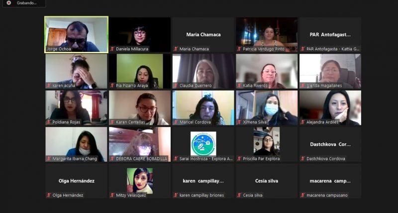 Profesionales de Educación Parvularia se reunieron en encuentro macrozonal de programa PIPE de Explora