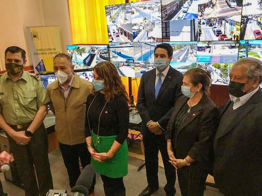 Calle Segura: Gobierno dota de cinco nuevas cámaras de televigilancia a Vallenar