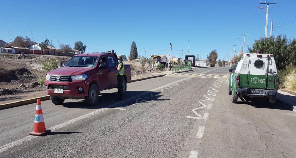 Carabineros fiscalizó más de 3.600 vehículos durante Fin de Semana Largo