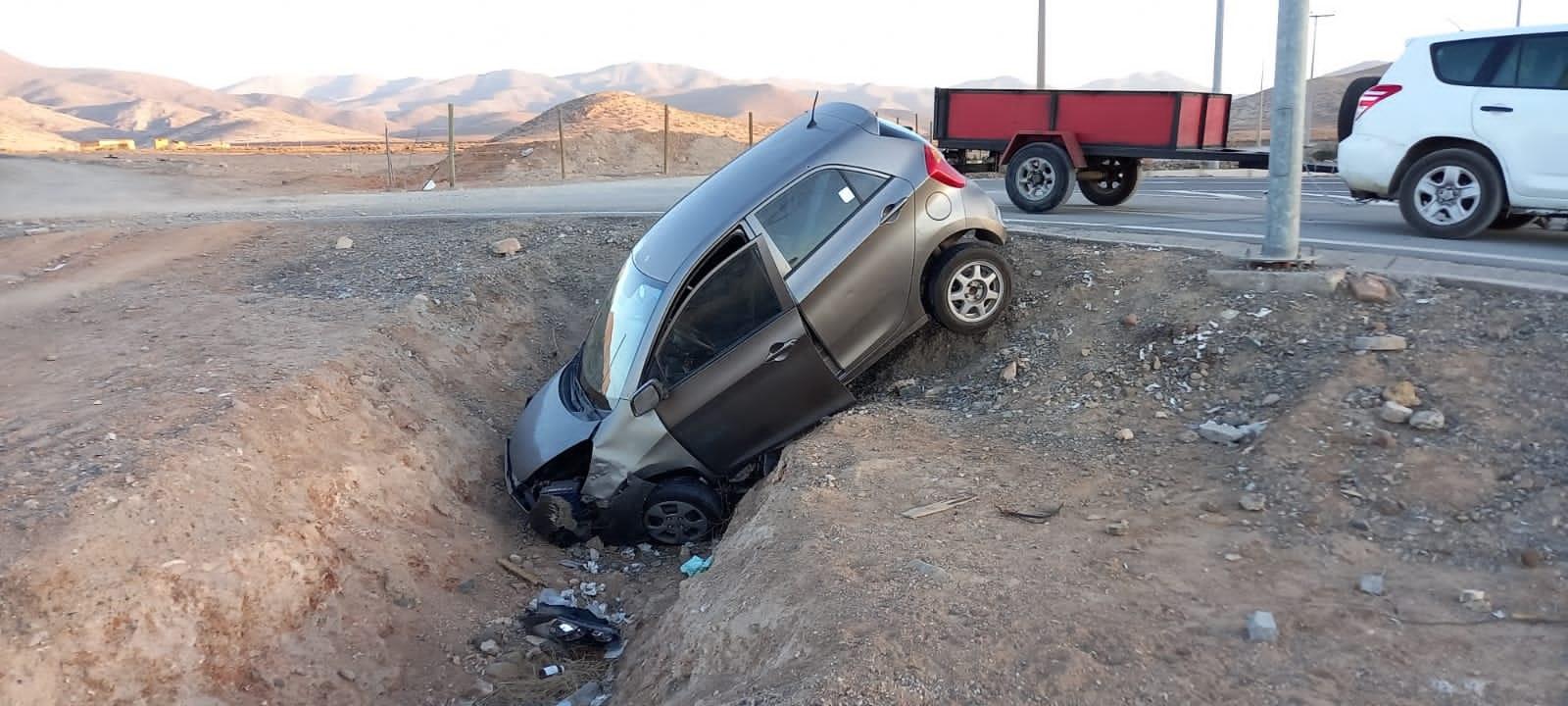 Accidentes de tránsito en Vallenar aumentaron entre 60% a 65% en últimos días