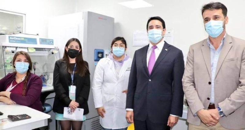Gobierno equipa Laboratorio de Biología Molecular del Hospital de Copiapó para la detección de variantes Covid19 en Atacama