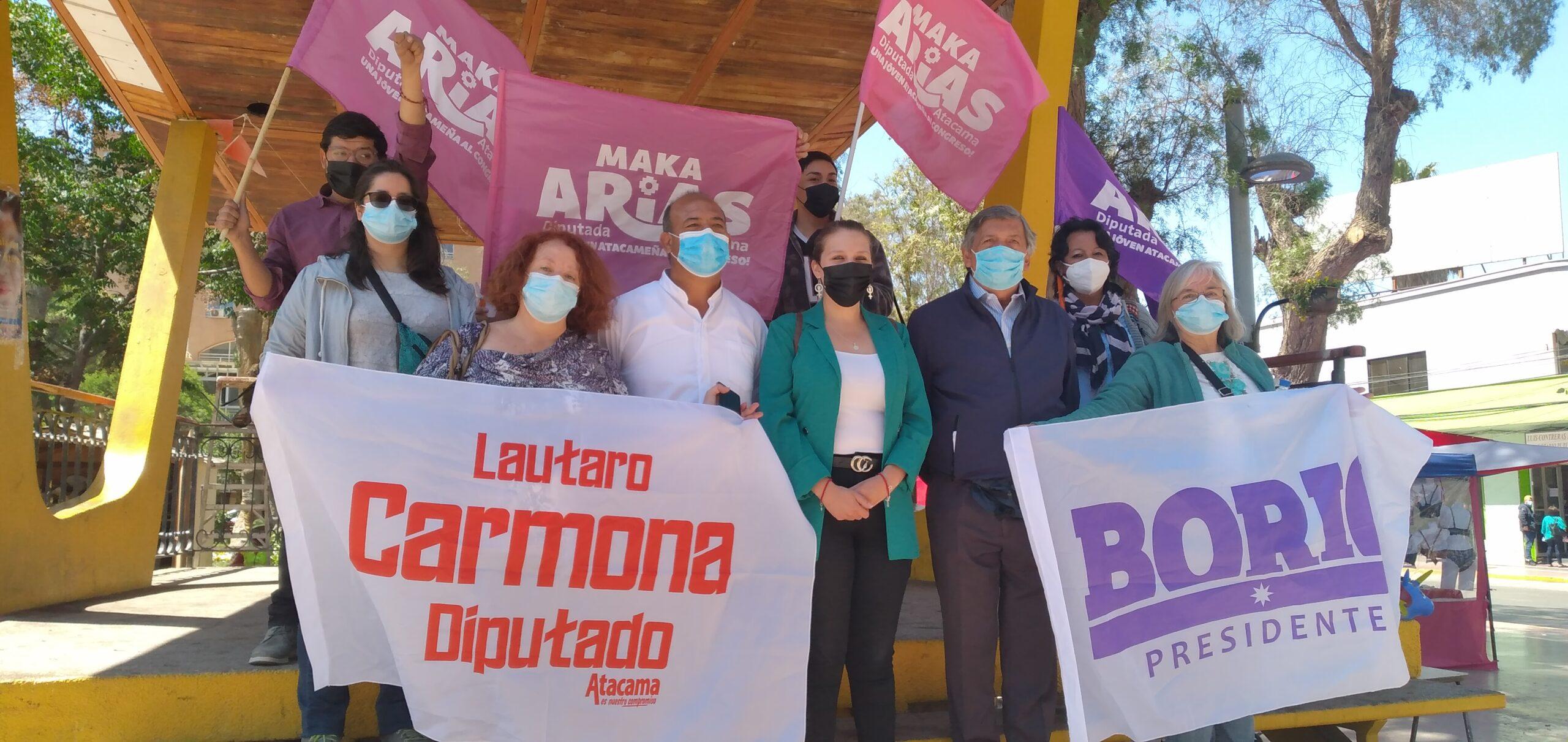 """Lautaro Carmona, candidato a diputado: """"Atacama no debe seguir siendo zona de sacrificio de punta a punta"""""""