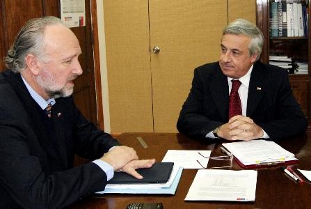 Prokurica se reunió con ministro de Salud para solicitar agilizar atención en Listas de Espera No Auge en Atacama