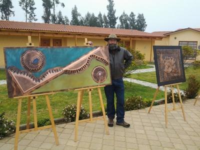 Artesano en Repujado en Cobre de Vallenar participará en Congreso Mundial de Orfebrería