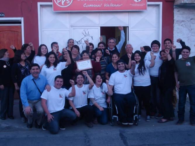 Jóvenes vallenarinos se incorporan a la Juventud Socialista