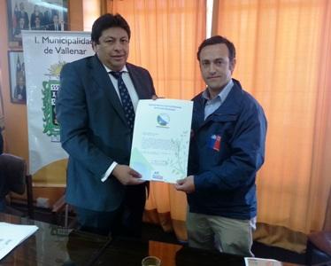 Entregan Certificación Ambiental a Municipio de Vallenar
