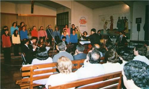 Coro de apoderados y profesores del colegio Ambrosio O'Higgins de Vallenar retoma sus actividades