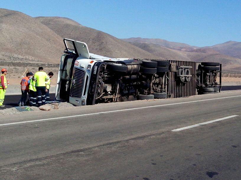 Nuevo accidente vehicular al sur de Vallenar