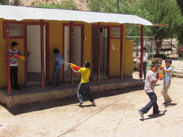 MOP Atacama anticipa la Navidad para niños y niñas de Chollay