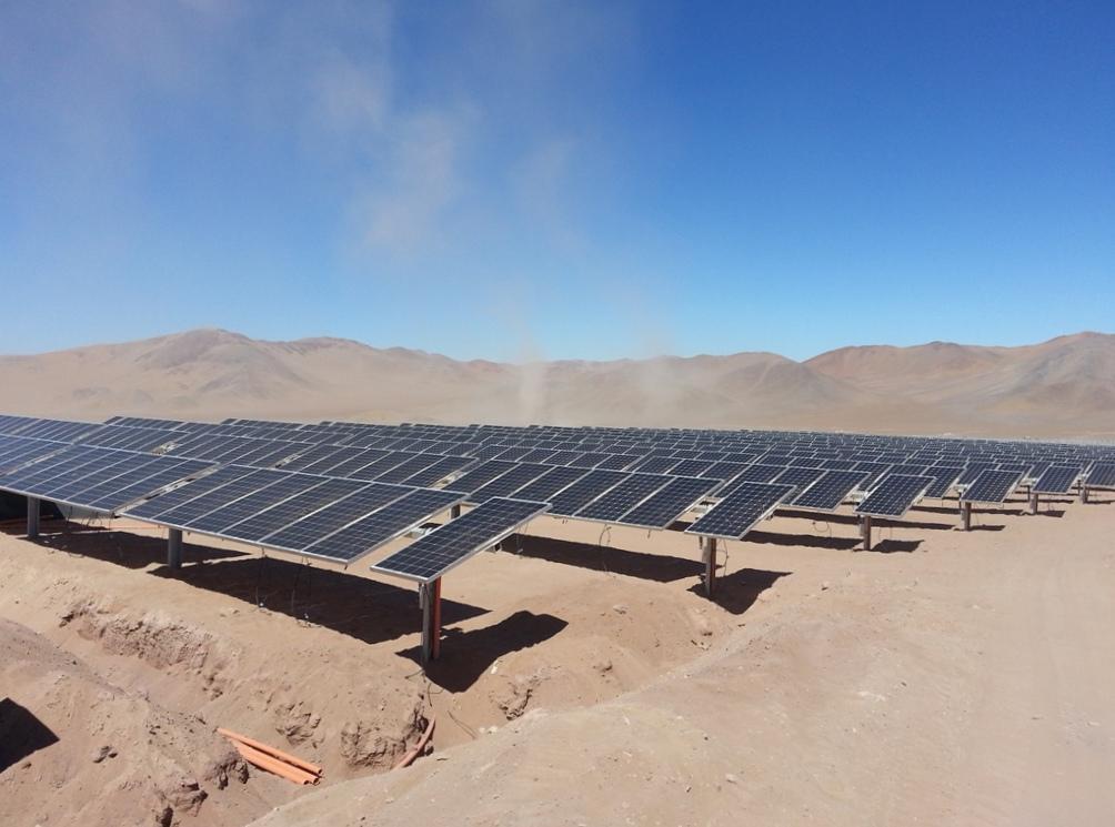 Aprueban tres plantas fotovoltaicas por 130 megavatios en la Región de Atacama