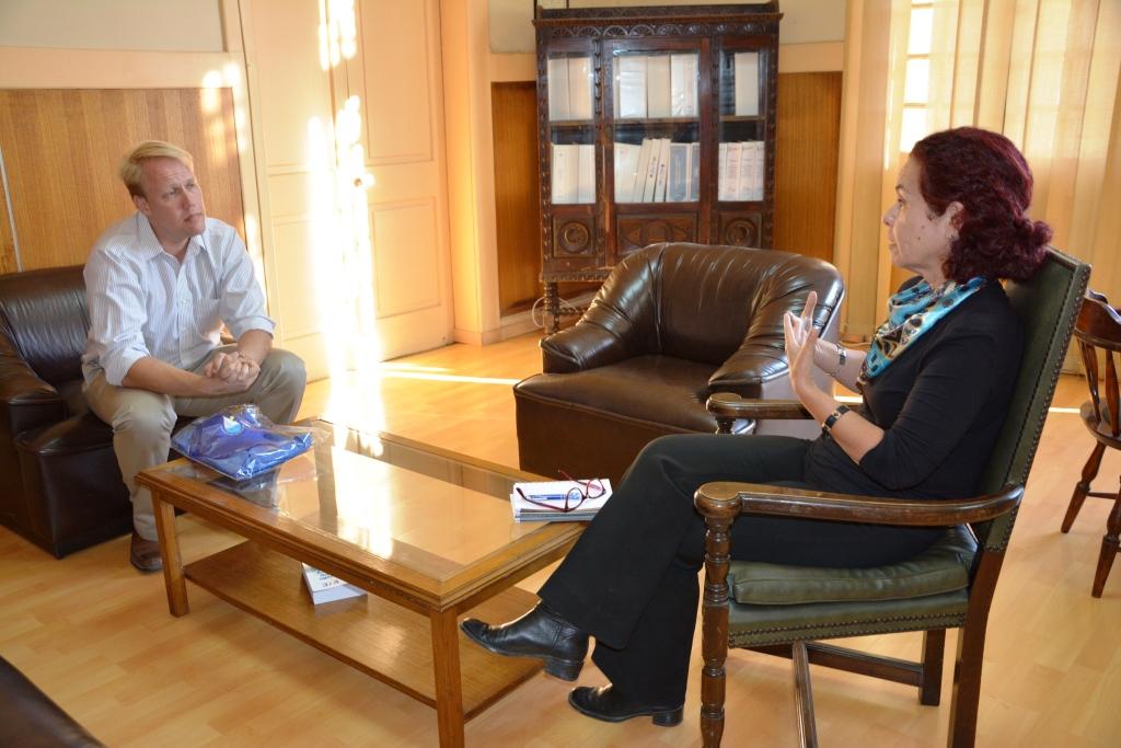 Goldcorp y su proyecto El Morro saludan a nueva Gobernadora del Huasco