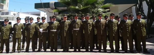 20 carabineros de Atacama fueron ascendidos a sus nuevos grados